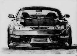nissan silvia s14 by erithdorpl on deviantart
