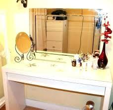 glass top vanity table glass makeup vanity vanity makeup storage medium size of glass
