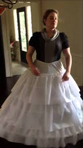 wedding dress hoop how to sit in a hoop skirt