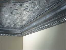 Stick On Ceiling Tiles by Kitchen Wood Crown Molding Styles Glue On Ceiling Tiles Faux Tin
