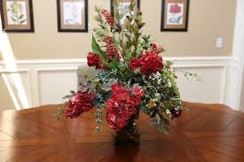 Decorative Floral Arrangements Home by Dining Room Charming Image Of Dining Room Decoration Using