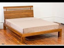 The 25 Best Wooden Beds by Solid Wood Bed Frame Youtube Inside Solid Wood Bed Frame Plan