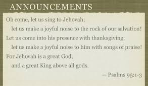 lift your voice in praise