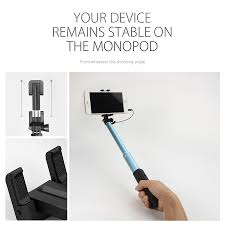 Extendable by Blitzwolf Bw Ws1 Mini Extendable Wired Selfie Stick Monopod For