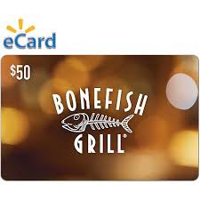 bonefish gift card bonefish grill 50 email delivery walmart