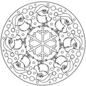 thanksgiving mandala coloring page free printable coloring pages