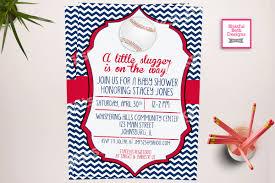 baseball baby shower slugger shower baseball themed baby shower invitation