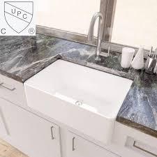 best kitchen sink for 30 inch base cabinet kes white farmhouse sink 30 inch kitchen apron front undermount sink single bowl bvs117