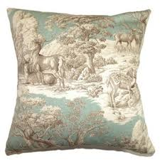 French Toile Bedding French Blue Toile Bedding Wayfair