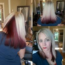 highlights underneath hair burgundy hair with dark red purple and brown highlights