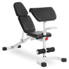 buy xmark flat incline decline fid bench with preacher curl xm