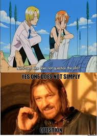 one does not simply question an afro by tijske1996 meme center