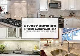 lovely interesting ivory subway tile backsplash ivory kitchen