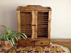 Wooden Spice Cabinet With Doors Vintage Wooden Spice Rack Cabinet With Doors Spice Racks