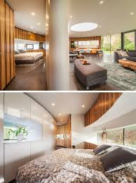this circular house is built into the hillside contemporist