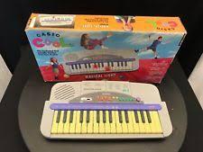 piano keyboard with light up keys vintage casio cool ml 2 magical keyboard 32 light up keys ebay