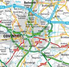 map uk coventry coventry map and coventry satellite image