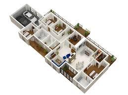 Architectural House Plans And Designs 50 Four U201c4 U201d Bedroom Apartment House Plans Architecture U0026 Design