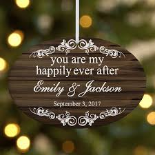 personalized you are my happily after ornament