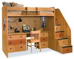 Bunk Bed And Desk Enchanting Bunk Bed Desk Combo 25 Best Ideas About Bunk Bed Desk