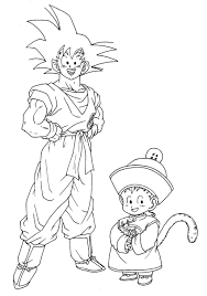 dragon ball gt pictures to color free coloring pages on art