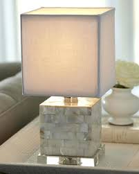 Bedside Table Lamps Mother Of Pearl Table Lamps Design Mother Of Pearl Mini Cube Lamp