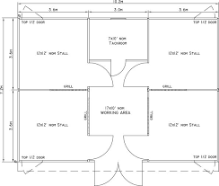 Small Barn Plans 24 X 34 Small Horse Barn Layout Horse Barn Ideas Pinterest