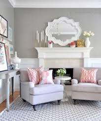 home decor ideas living room 30 grey and coral home décor ideas digsdigs