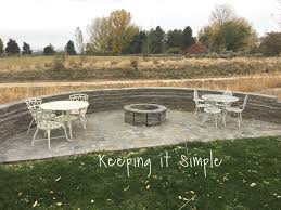 build a backyard fire pit how to build a diy fire pit for only 60 keeping it simple crafts