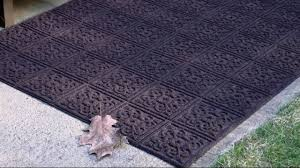 Don Aslett Doormat Aqua Hog 2 U0027 X 3 U0027 Indoor Outdoor Door Mat With Rubber Backing On