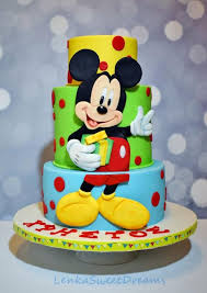 25 mickey mouse birthday cakes ideas