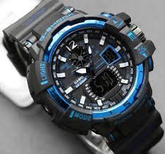Jam Tangan G Shock jam tangan g shock gw a1000 black blue dunianet
