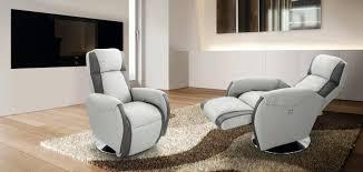 fauteuil confort electrique fauteuil design relax en cuir afl literie
