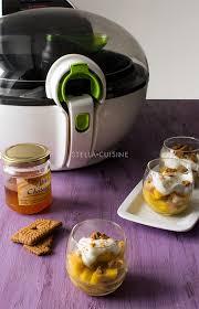 cuisine seb recette de verrines de poires et mangues caramélisées à la seb