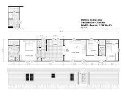 4 Bedroom Single Wide Floor Plans Single Wide Mobile Home Floor Plans Www Pyihome Com
