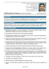 Cctv Experience Resume C J Correa Cv Updated On 03 Jul 15