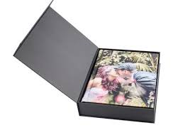 photo print on leatherette wedding album cover from 20 pages