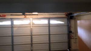 liftmaster jackshaft garage door opener liftmaster 8500 wallmount opener in action youtube
