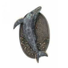 buy antique brass whale door knocker 9 inch nautical theme