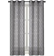 Grey White Curtains Amazon Com Tahari Window Curtain Panels 52 Inches By 96 Inches