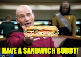 Sandwich Meme - i must reach supreme koink imgflip