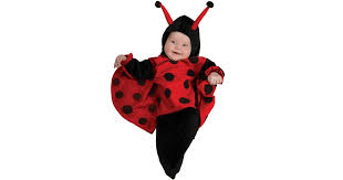 Newborn Bunting Halloween Costumes 0 3 Months Ladybug Bunting Infant Costume Buycostumes
