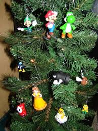 nintendo christmas ornaments 8 bit nerds