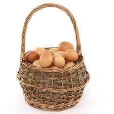 egg baskets willow egg baskets kitchen accessories