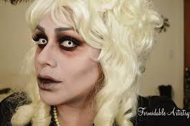 ben nye halloween makeup formidableartistry halloween makeup victorian ghost bride