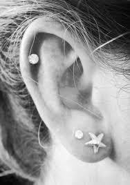earrings for second second and cartilage ear piercing themed jewelry and