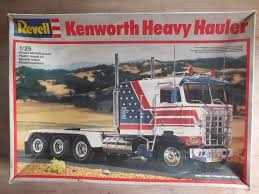 kenworth aerodyne truck revell kenworth heavy hauler the truck stop model cars