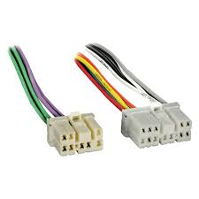 metra 71 7901 factory replacement wiring harness with oem radio
