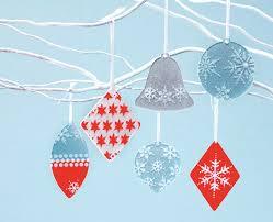 martha stewart crafts snow day adhesive stencil ornaments