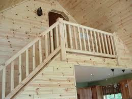 simple rustic wood stair railings ideas homescorner rustic stair